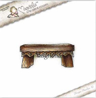 Magnolia Stamps - Aspen Holidays - Christmas Lace Bench