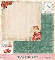 Blue Fern Studios - Vintage Christmas 2 - 12x12 Twas The Night