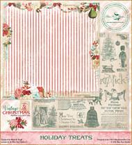 Blue Fern Studios - Vintage Christmas 2 - 12x12 Holiday Treats
