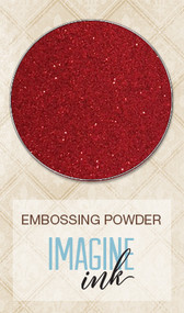Blue Fern Studios Embossing Powder - Santa's Suit
