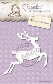 Magnolia Stamps DooHickey - Aspen Holidays - Santas Reindeer