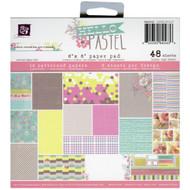 Prima Marketing Hello Pastel 6 x 6 Paper Pad