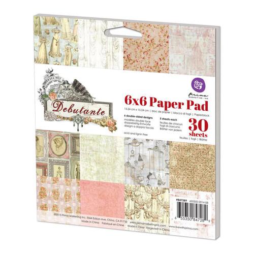 Prima Marketing Debutante 6 x 6 Paper Pad