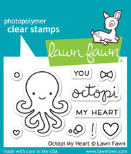 Lawn Fawn - Octopi My Heart Stamp Set (LF1295)