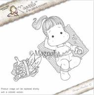 Magnolia Stamps - Recipe Card - Picnic Tilda With Basket