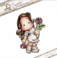Magnolia Stamps - Recipe Card - Lovely Rose Tilda 1