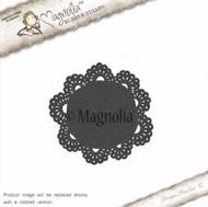 Magnolia Stamps - Recipe Card - Doily