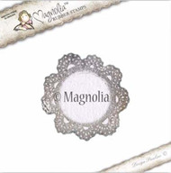 Magnolia Stamps - Recipe Card - Doily 1