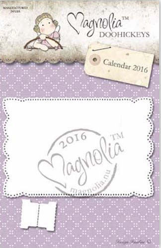 Magnolia Stamps DooHickey - Recipe Card