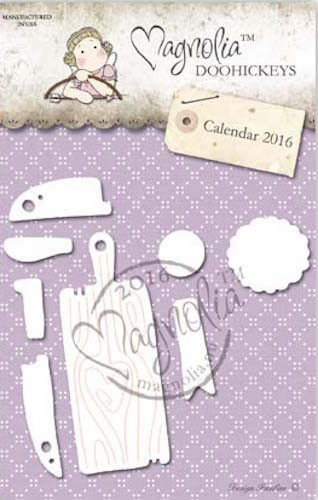Magnolia Stamps DooHickey - Medallion and Cutting Board