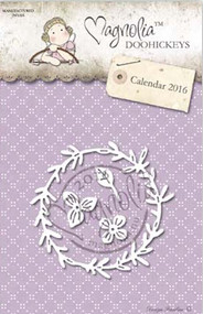Magnolia Stamps DooHickey - Rosemary Wreath