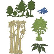 Heartfelt Creations - Woodsy Wonderland Woodsy Landscape Die (HCD1-7122)
