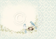 Pion Design - The Songbirds Secret - 12 x 12 Nesting Birds