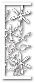 Memory Box Die -Stitched Aster Panel - Craft Die (MB-99687)