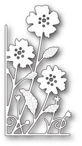 Memory Box Die - Small Antilles Floral Left Corner- Craft Die (MB-99655)