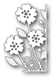 Memory Box Die - Small Antilles Floral Right Corner- Craft Die (MB-99632)