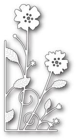 Memory Box Die - Large Antilles Floral Left Corner- Craft Die (MB-99610)