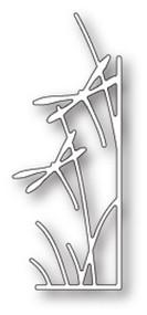 Memory Box Die - Dragonfly Stems Right Corner - Craft Die (MB-99710)