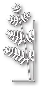 Memory Box Die - Tall Fern Right Corner - Craft Die (MB-99669)
