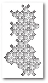 Poppystamps Craft Die - Ring Collage Craft Die (PS-1760)