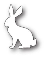Poppystamps Craft Die - Serene Rabbit Craft Die (PS-1770)