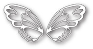 Poppystamps Craft Die - Fantasy Faerie Wings Craft Die (PS-1787)