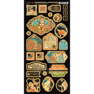 Graphic 45 - Vintage Hollywood - Chipboard Die Cuts (VHG45 - 1536)