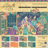 Graphic 45 - Midnight Masquerade - 8x8 Paper Pad (MMG45 - 1548)