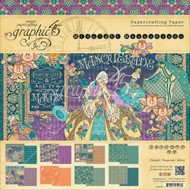 Graphic 45 - Midnight Masquerade - 12x12 Paper Pad (MMG45 - 1549)