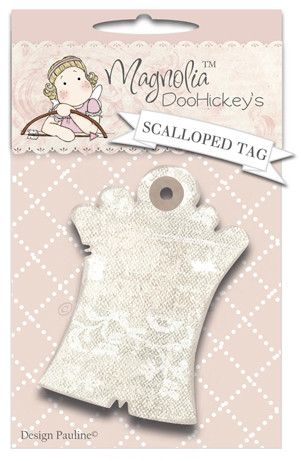 Scalloped Tag
