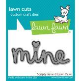 Lawn Fawn - Lawn Cuts - Scripty Mine (LF-1301)