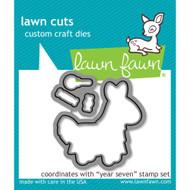 Lawn Fawn - Lawn Cuts - Year Seven (LF1339)