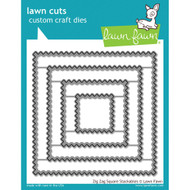 Lawn Fawn - Lawn Cuts -Zig-Zag Square Stackables (LF1384)