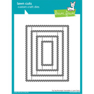 Lawn Fawn - Lawn Cuts -Zig-Zag Rectangle Stackables (LF1385)
