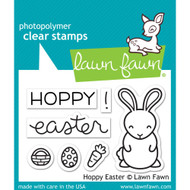 Lawn Fawn - Clear Stamps - Hoppy Easter (LF1319)