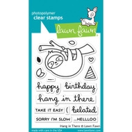Lawn Fawn - Clear Stamps - Hang In There (LF1311)