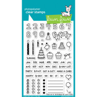 Lawn Fawn - Clear Stamps - 4x6 - Plan On It: Birthday (LF1340)