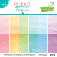 Lawn Fawn - Paper Pack - Watercolor Wishes - Perfectly Plaid (LF1356)