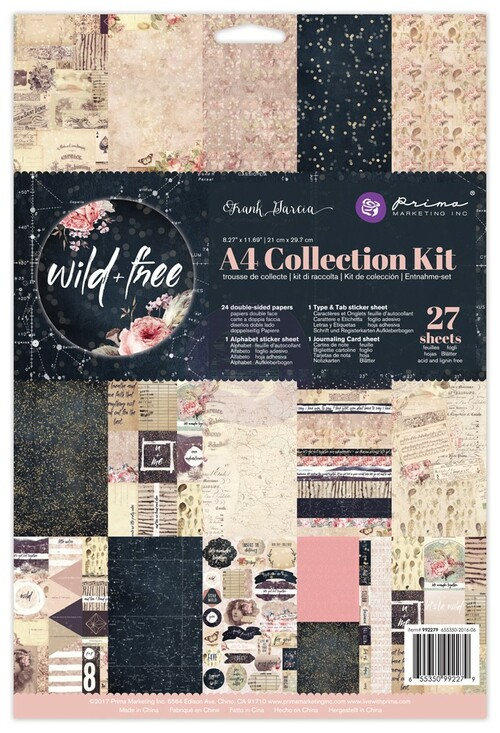 Prima Marketing - Wild & Free - A4 Collection Kit (PM-992279)