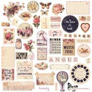 Prima Marketing - Love Clippings - Chipboard & More (PM-992149)