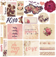 Prima Marketing - Love Clippings - Ephemera (PM-992163)