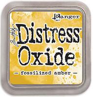 Tim Holtz Distress Oxide Ink - Fossilized Amber