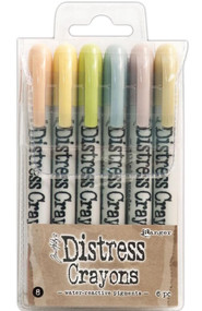 Tim Holtz Distress Crayons Set 8