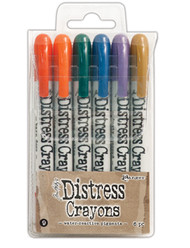 Tim Holtz Distress Crayons Set 9