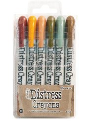Tim Holtz Distress Crayons Set 10