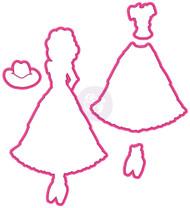 Prima Marketing - Julie Nutting - Doll Die - Annie (PM-911836)