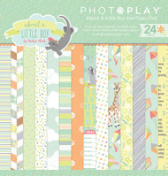 Photoplay - About A Little Boy - 6X6 Paper Pad - Pre Order