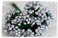 Magnolia Stamps Vintage Berries Silvery