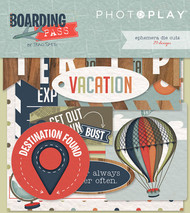 Photoplay - Boarding Pass - Ephemera Cardstock Die-cuts