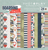 Photoplay - Boarding Pass - 6X6 Paper Pad - Pre Order